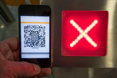 Nicht überall wird die mobile Bordkarte akzeptiert