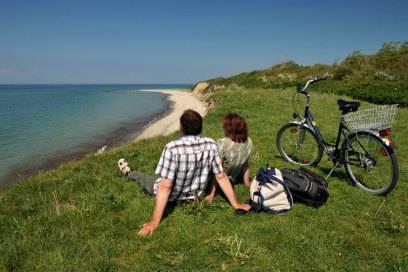 Der Ostseeküsten-Radweg führt 1095 Kilometer immer am Meer entlang