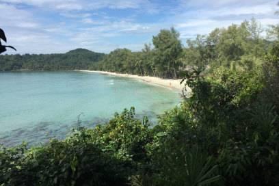 Klong Chao Beach auf Koh Kut in Thailand