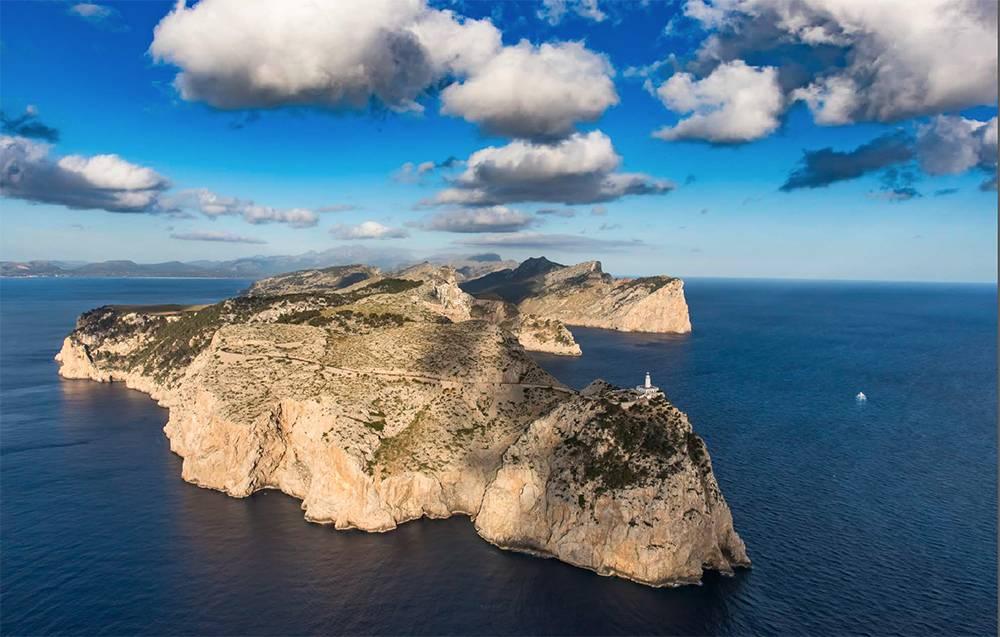 Die Halbinsel Cap de Formentor, der nördlichste Punkt der Insel
