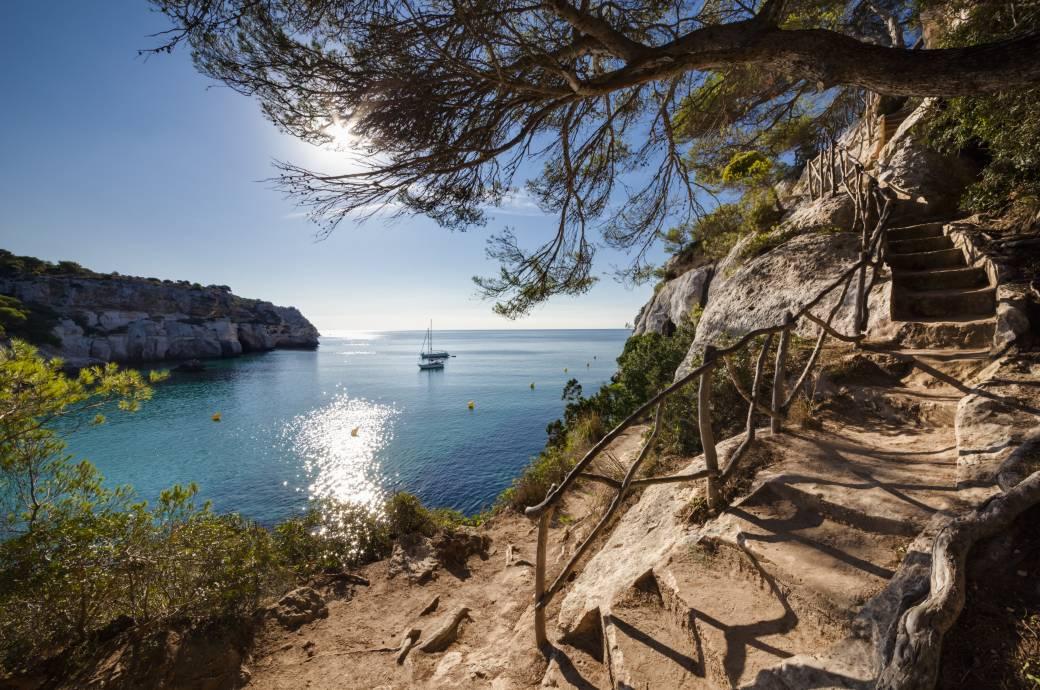 Insel Menorca Karte.Der Pferdeweg Menorcas Schonster Wanderweg Travelbook