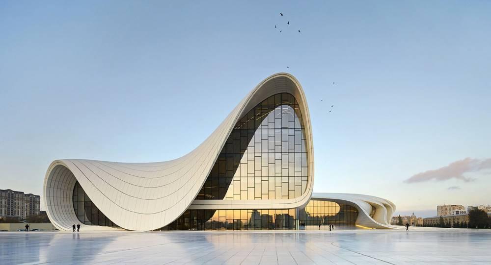 Heydar-Aliyev-Zentrum, Baku