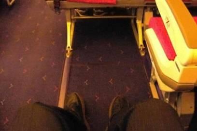 Secret Seat in einem A 380 von Thai Airways: Auf Langstrecken lohnt es sich, den Kabinenplan nach Sitzen mit ungewöhnlich großzügigem Platzangebot abzusuchen
