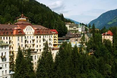Berühmt für seine alten Grandhotels: Bad Gastein im österreichischen Salzburg