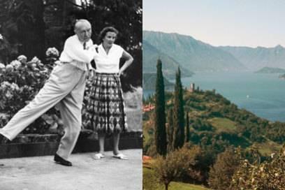 Konrad Adenauer beim Boccia am Comer See. Und so sah es wohl auch aus, als er einst in Bad Gastein die Kugel warf