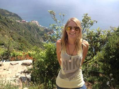 """Felicia Hargarten betreibt mit ihrem Freund zusammen den Blog """"travelicia"""""""