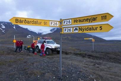 Die isländischen Behörden haben das Gebiet um den brodelnden Vulkan weiträumig gesperrt. Auch überflogen werden darf der Bárdarbunga zurzeit nicht