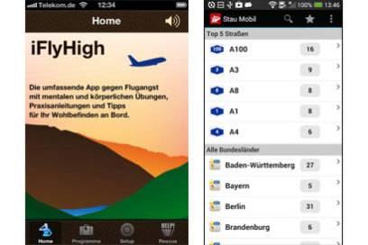"""Relaxed den Flug überstehen – das verspricht die App """"iFlyHigh"""""""