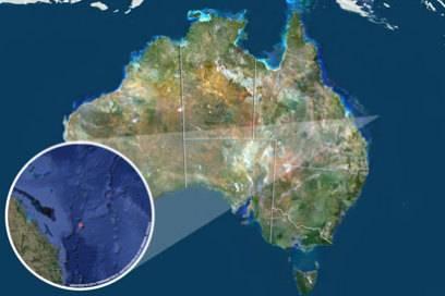 Vor der Küste im Nordosten Australiens liegt Cato Island