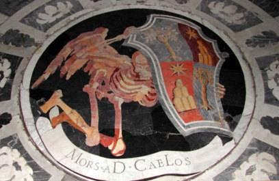 Das Dämonenloch in der Chigi Kapelle