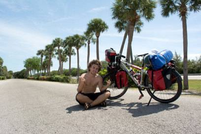 Hat sich seinen Lebenstraum erfüllt: Felix Starck ist ein Jahr lang mit dem Rad um die Welt gereist