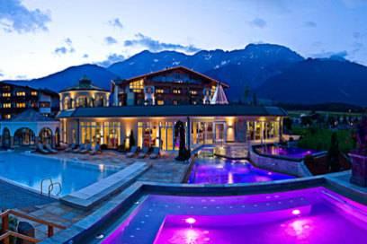 Das Alpenresort Schwarz liegt im österreichischen Mieming