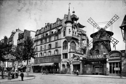 Das Moulin Rouge um 1900