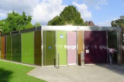 Eines der schönsten Toilettenhäuschen der Welt steht in Zürich – und kostet: nichts