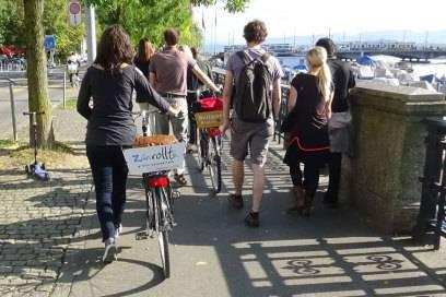 Stadterkundung mit Frei-Fahrrad