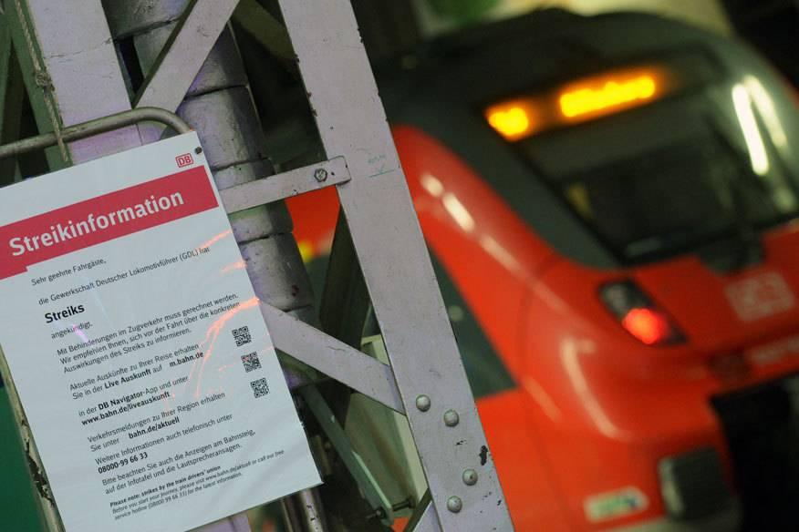Zweiter Streik: Die Lokführer wollen Fern- und Regionalzüge sowie S-Bahnen stehen lassen