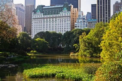 The Plaza Hotel in New York City landet im Ranking auf dem zweiten Rang mit 3.700 Millionären unter den Gästen