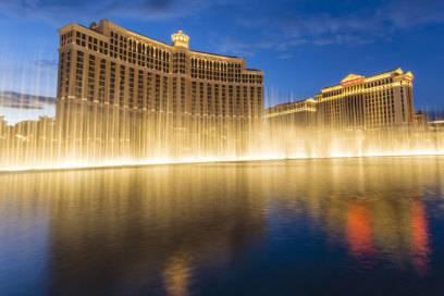Das Caesars Palace (rechts) in Las Vegas besuchten im letzten Jahr weit über 3.000 Millionäre