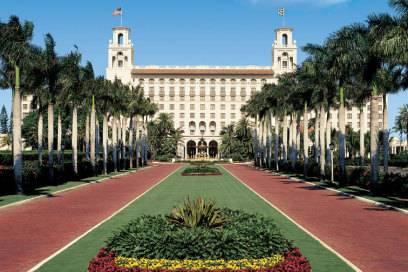 The Breakers in Palm Beach (Florida), auch ein Mekka für Wohlhabende