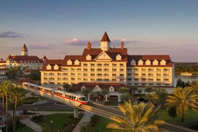 Auch das Hotel Disney's Grand Floridian im Walt Disney World Resort in Orlando zieht Hunderte Millionäre in seinen luxuriösen Bann