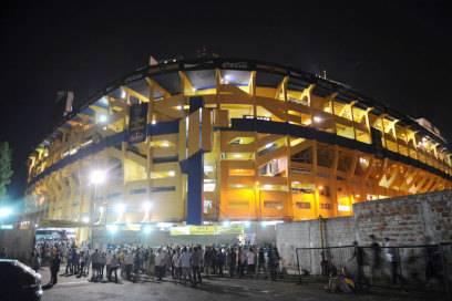"""Bei den Gegnern der Boca Juniors ist """"La Bombonera"""" wegen der besonderen Stimmung im Stadion gefürchtet"""