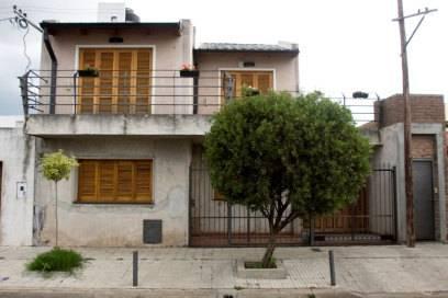 In diesem Haus in Rosário wuchs Lionel Messi auf