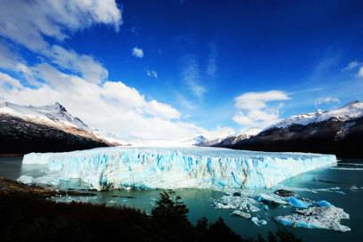 Der Perito-Moreno-Gletscher im Nationalpark Los Glaciares