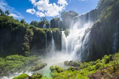 Die Iguazú-Wasserfälle und der Nationalpark, in dem sie liegen, wurden von der Unesco zum Weltnaturerbe erklärt