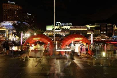 Singapore-Orgien