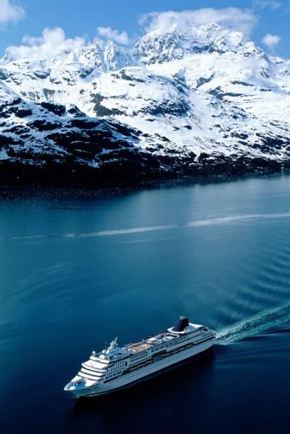 Beliebtes Ziel der Alaska-Kreuzer: der Glacier-Bay-Nationalpark