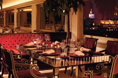 Das Restaurant Imágo