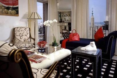 Blick in die Präsidenten-Suite des Hotels