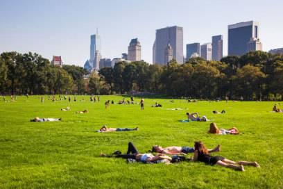 Die grüne Lunge des Big Apple: der Central Park in New York