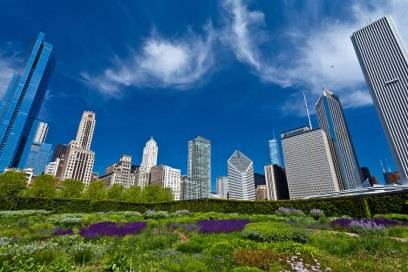 Sollte zur Jahrtausendwende eröffnet werden: der Millenium Park in Chicago