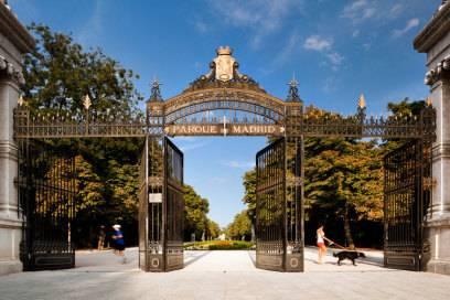 1979 im Rahmen einer Bürgeraktion entstanden: der Retiro-Park mitten im Herzen der spanischen Hauptstadt