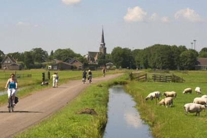 Mehrere Fahrradrouten erschließen den Beemsterpolder