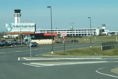 Der Bill and Hillary Clinton National Airport in Little Rock, Arkansas