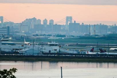 Der LaGuardia-Flughafen in New York