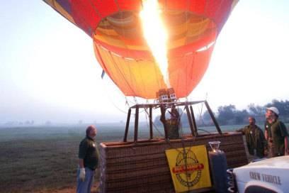 Ein besonderes Highlight: Ballonfahren in den Magaliesbergen in Südafrika