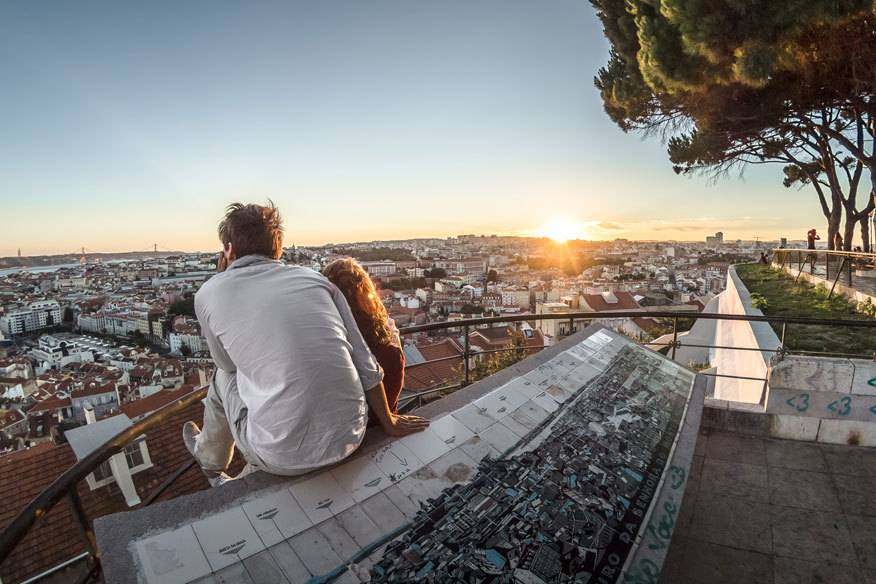 Die portugiesische Hauptstadt Lissabon landete im Ranking, zusammen mit zwei weiteren Städten, auf Platz 1