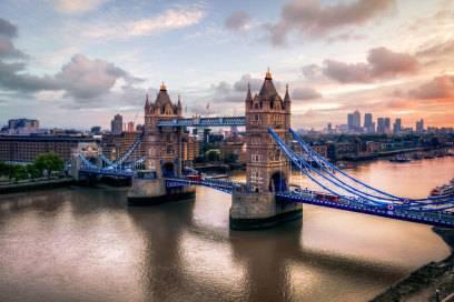 Wo Sonnenhungrige besser nicht hinfahren: London.