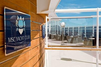 Zutritt nur für Mitglieder: der Yacht-Club