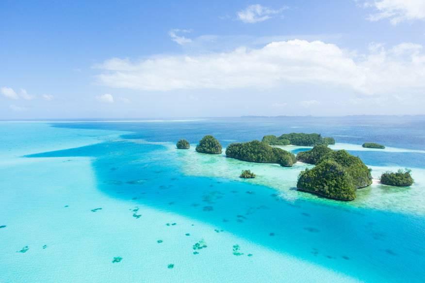 15 Jahre lang war Palau deutsche Kolonie (1899 – 1914). Heute besuchen jedes Jahr nur etwa 1200 Touristen aus Deutschland den Inselstaat