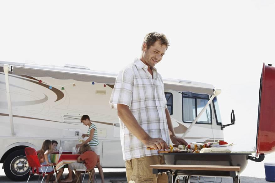 Ein Campingurlaub ohne Grill? Für viele unvorstellbar