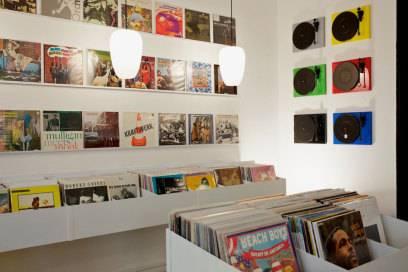 """Schallplattenladen """"Ground Zero"""" in Paris"""