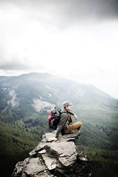 Für viele im wahrsten Sinne des Wortes der Höhepunkt einer Berg-Wanderung: der Ausblick auf das Tal