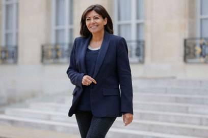 Die Bürgermeisterin von Paris, Anne Hidalgo, hat den Bau des gläsernen Hochhauses durchgesetzt