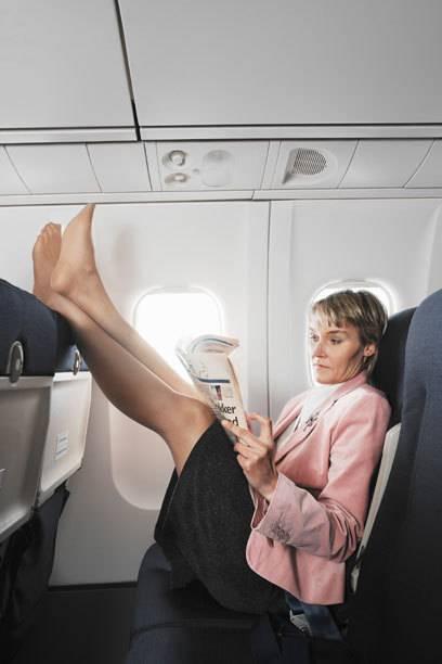 Viel Beinfreiheit ist den meisten Menschen im Flugzeug wichtig