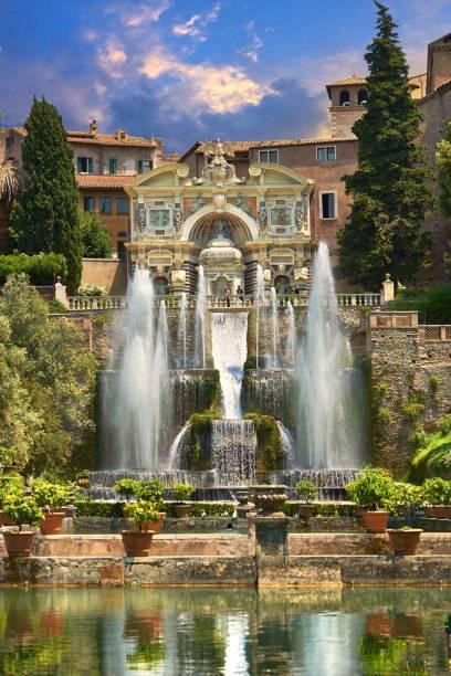 Traumhaft schön: der Neptunbrunnen der Villa d'Este