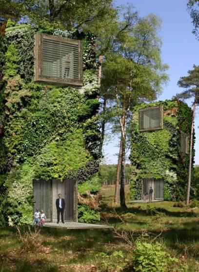 Ob Im Wald Oder In Der Stadt: Die Baumhäuser Sollen Umweltbewussten  Menschen Ein Neues Zuhause